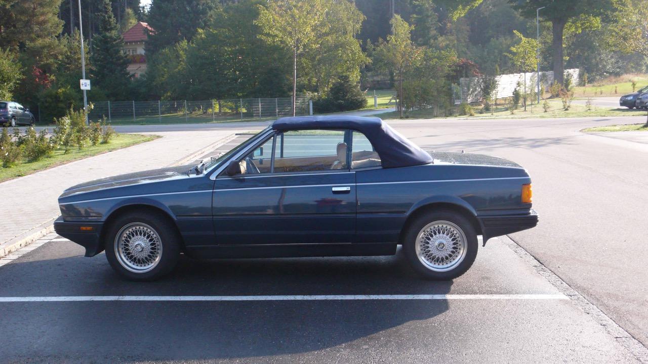 Maserati Biturbo Spyder - Geneva Classic Car Club