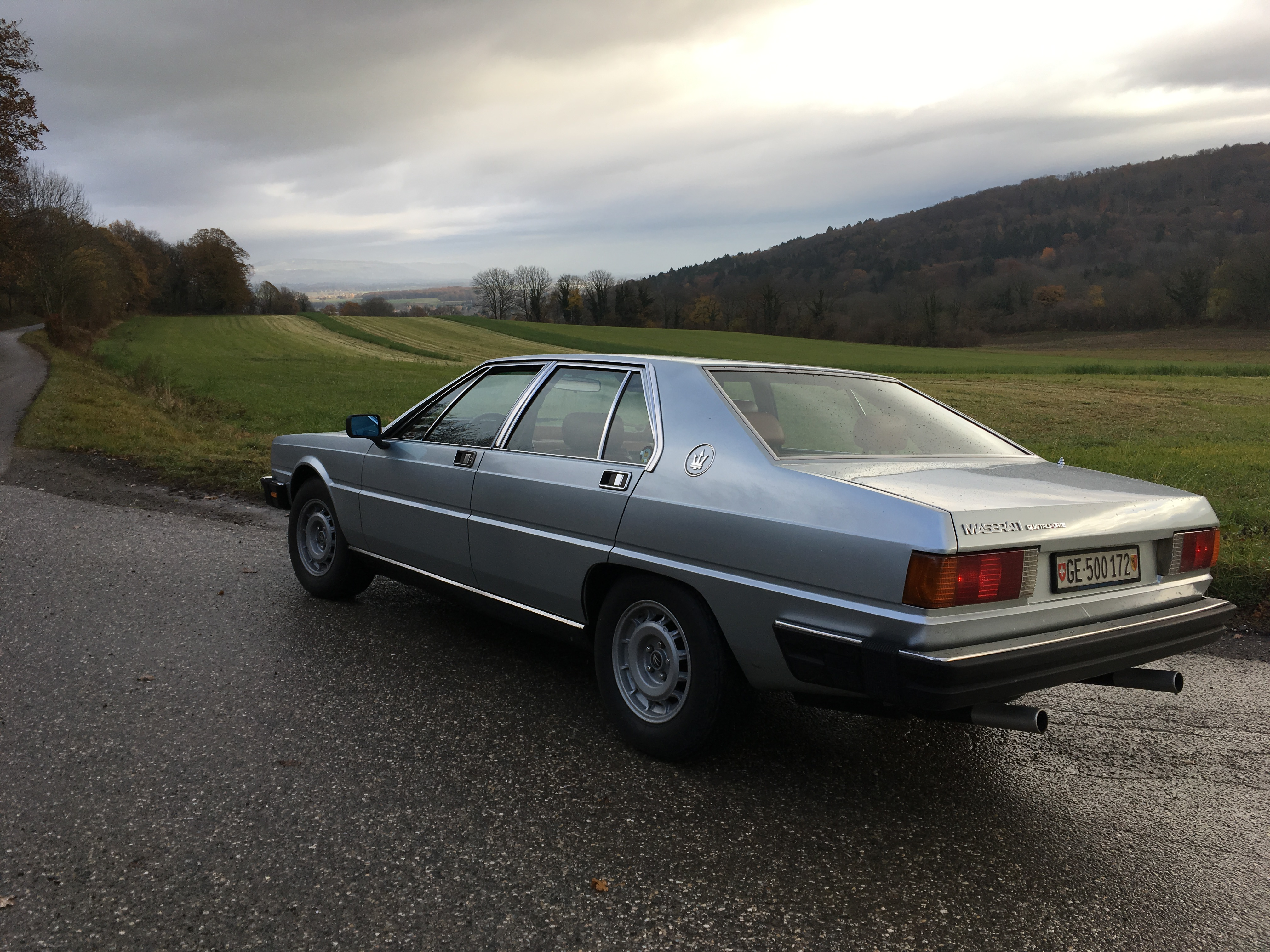 19 November: Photos from SAGA drive around Geneva